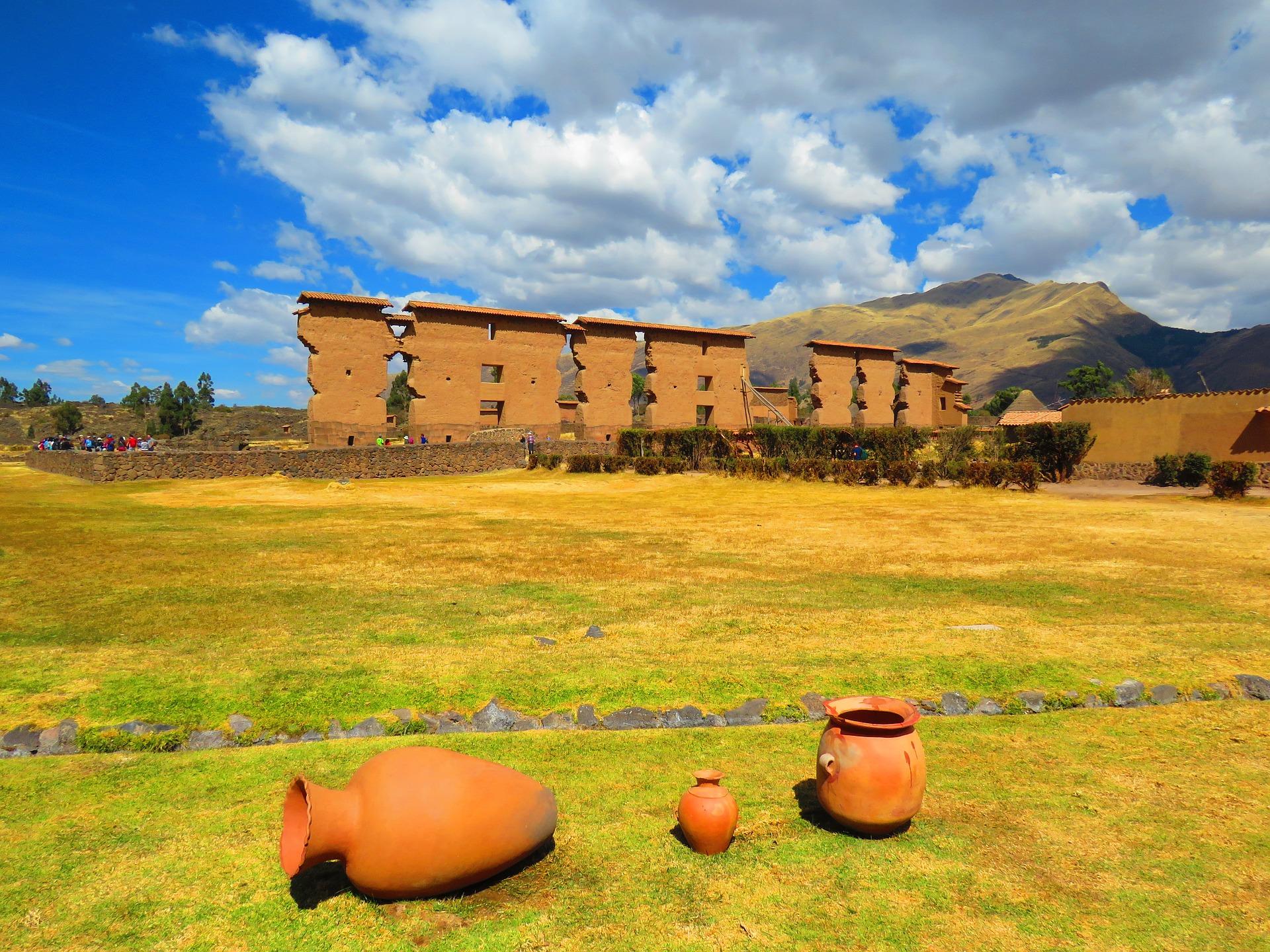 Raqchi, sanctuaire du Dieu Wiracocha