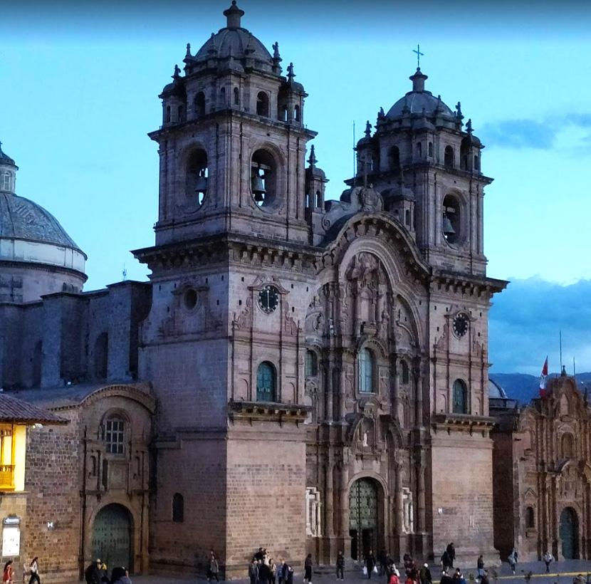 Place d'Armes à Cusco dans le centre historique