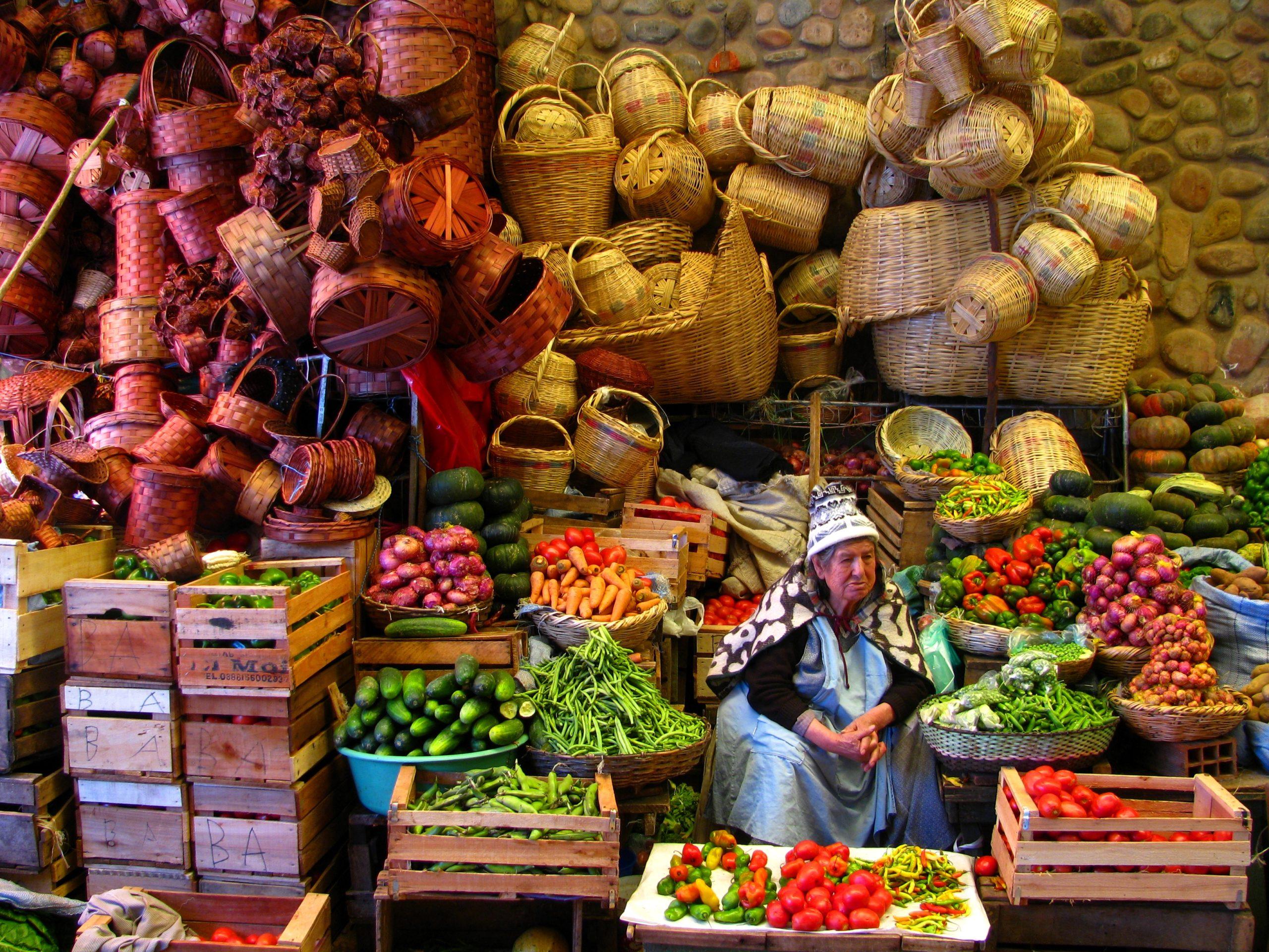 Les marchés colorés de La Paz