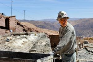 Mines du Cerro Rico à Potosi