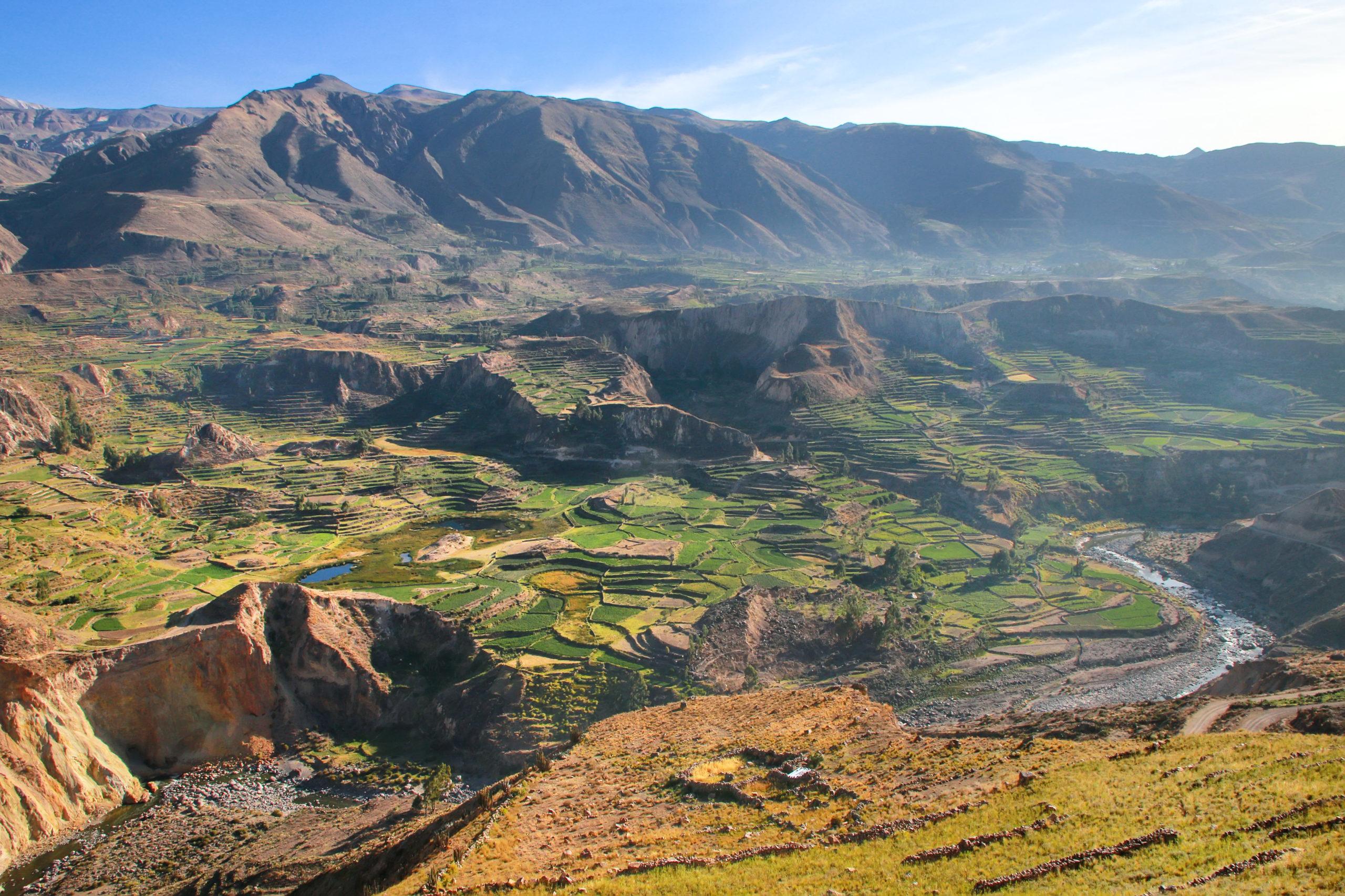 La vallée du Canyon de Colca