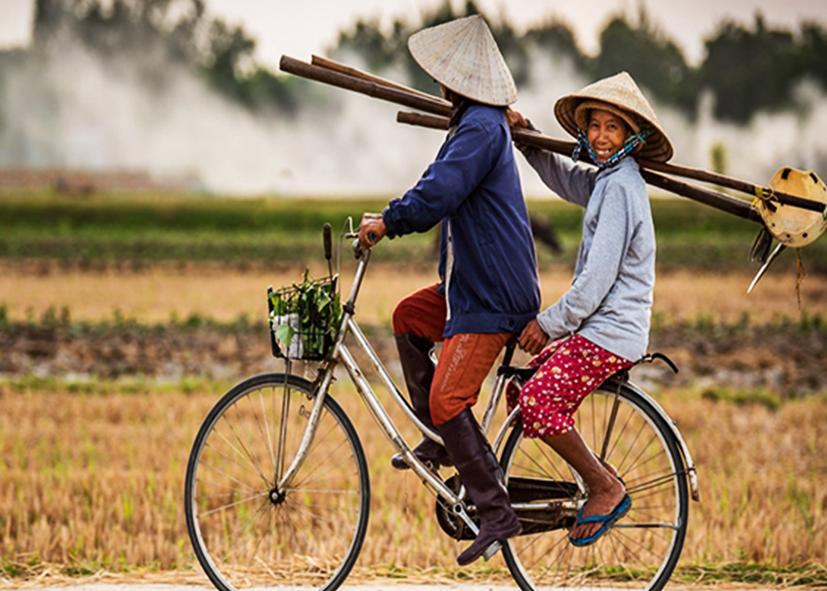 Balade en vélo dans les hameaux de Tays