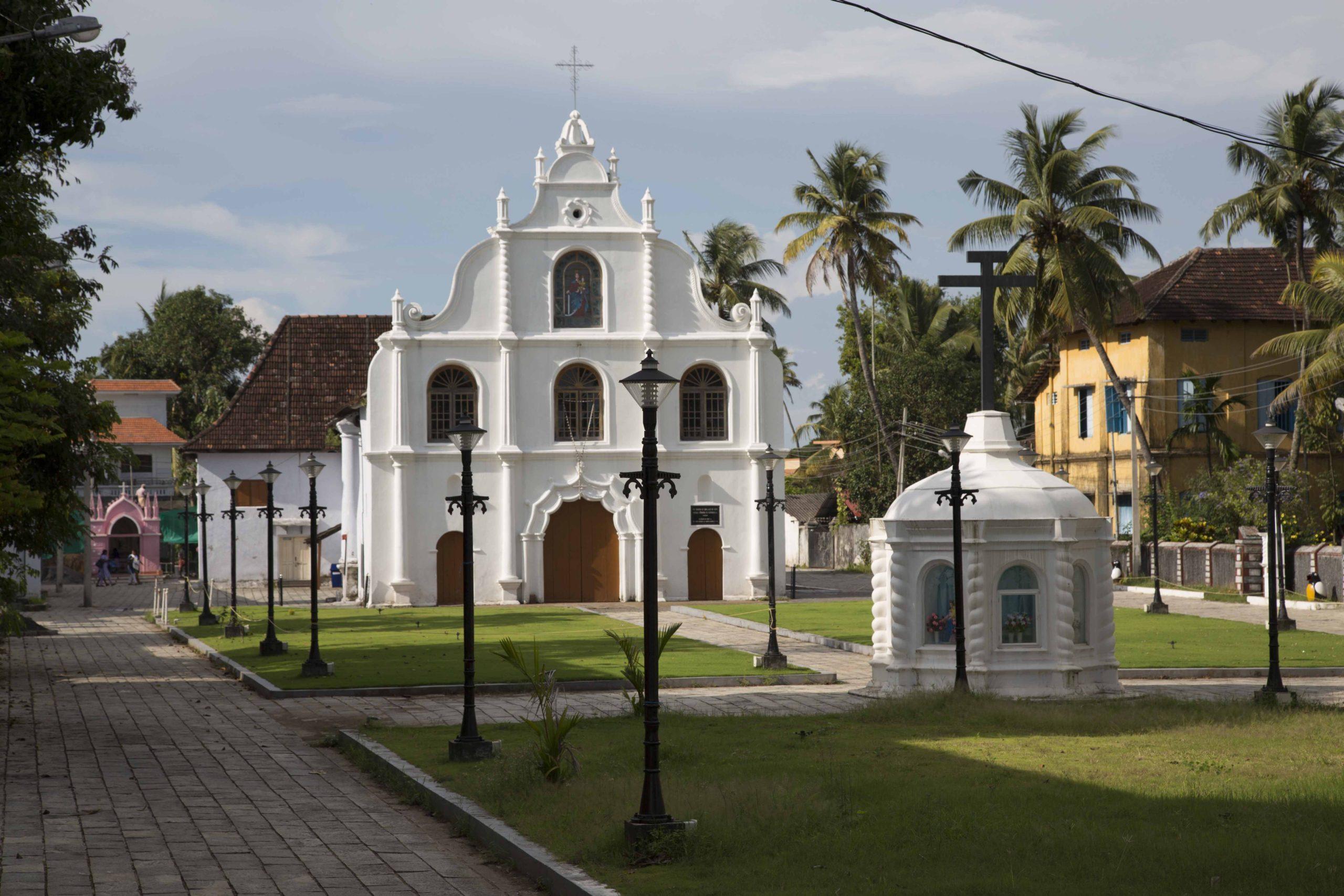 Eglise du Sacré Coeur de Jésus à Pondicherry