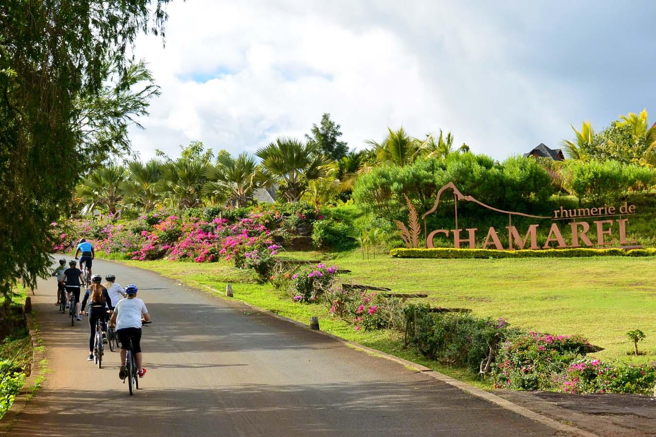 Randonnée à vélo à Chamarel dans le Sud de l'ile