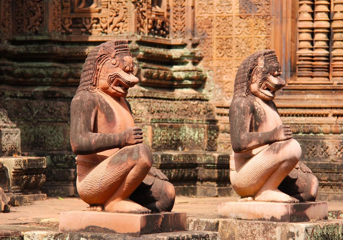 Découverte de Banteay Srei