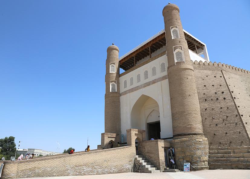 Entrée de la citadelle d'Ark de Boukhara