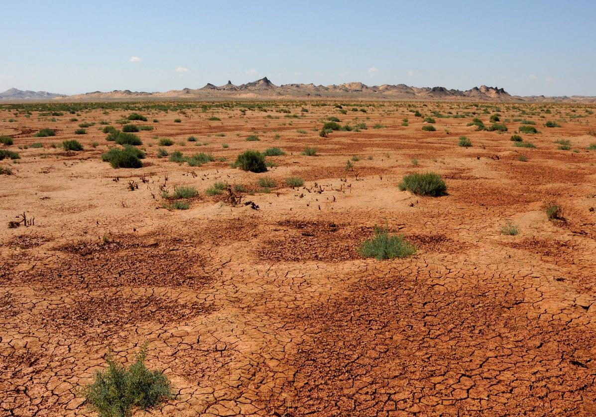 Tsagaan Suvraga dans le désert de Gobi