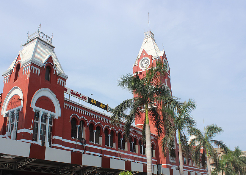 Le centre de Madras (Chennai)