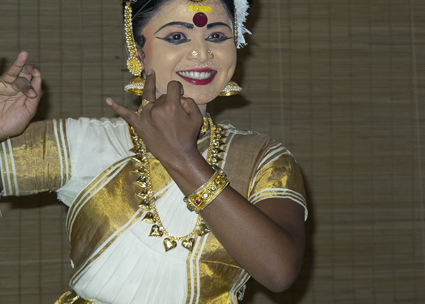 Danse de Kathakali à Cochin