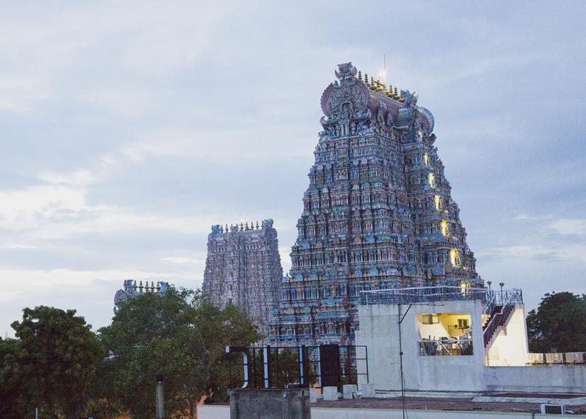 Temple Meenakshi de Madurai