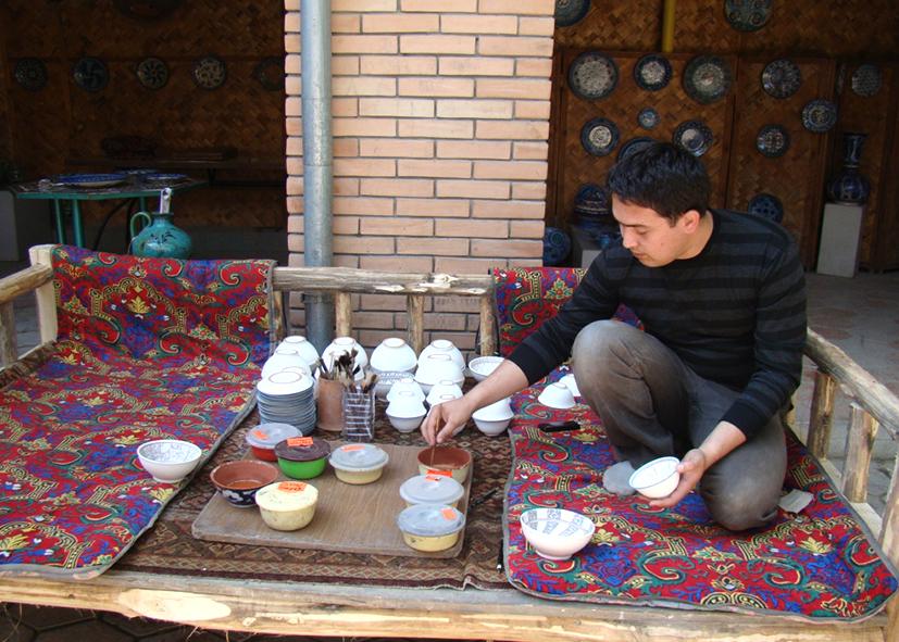 Poteries traditionnelles de Richtan