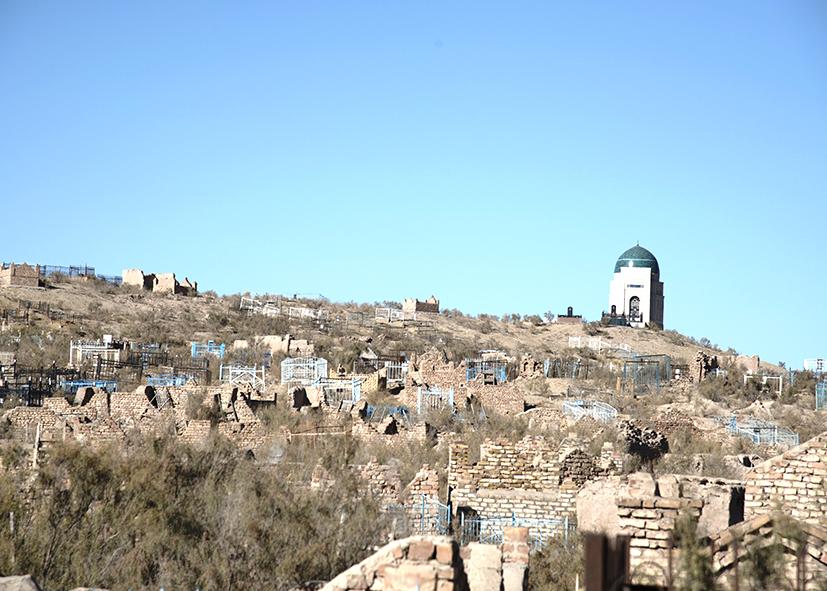 Les ruines de Mizdakkhan