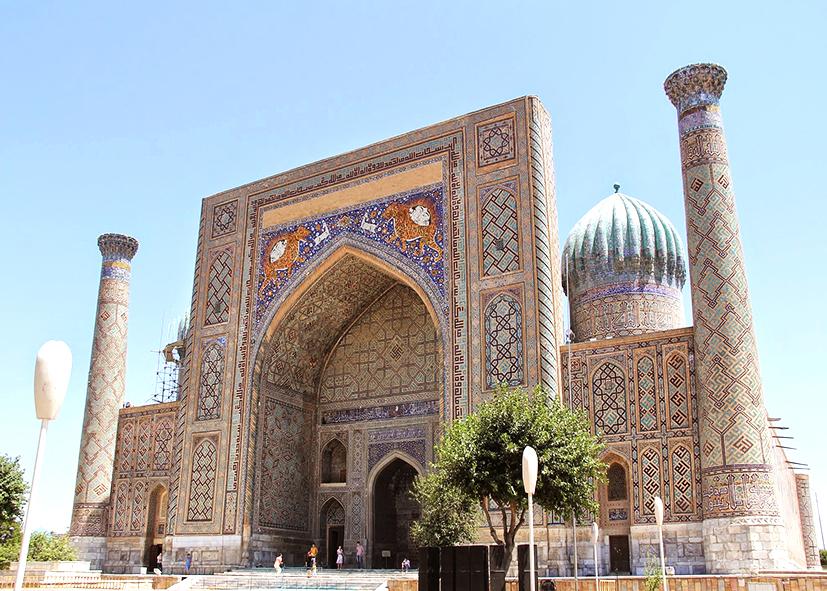 Mosquée Bibi Khanym à Samarcande