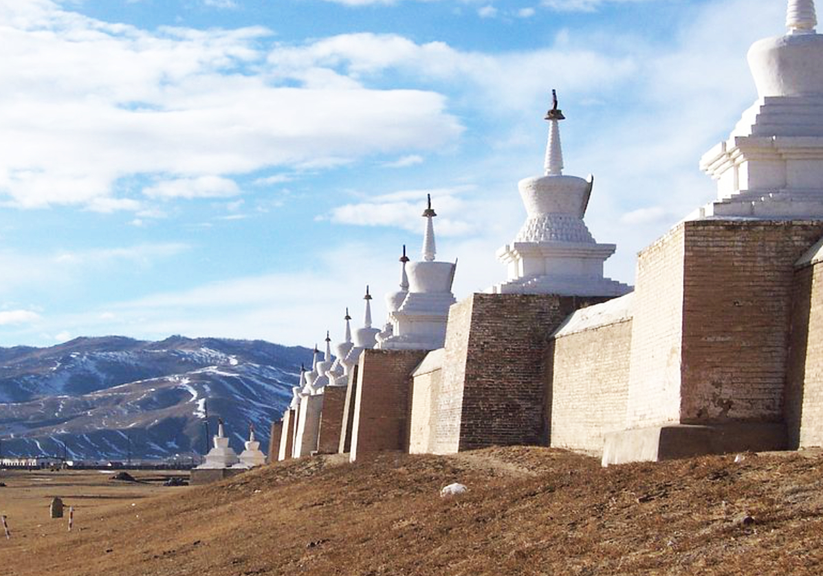 Visite du monastère de Ederne Zuu