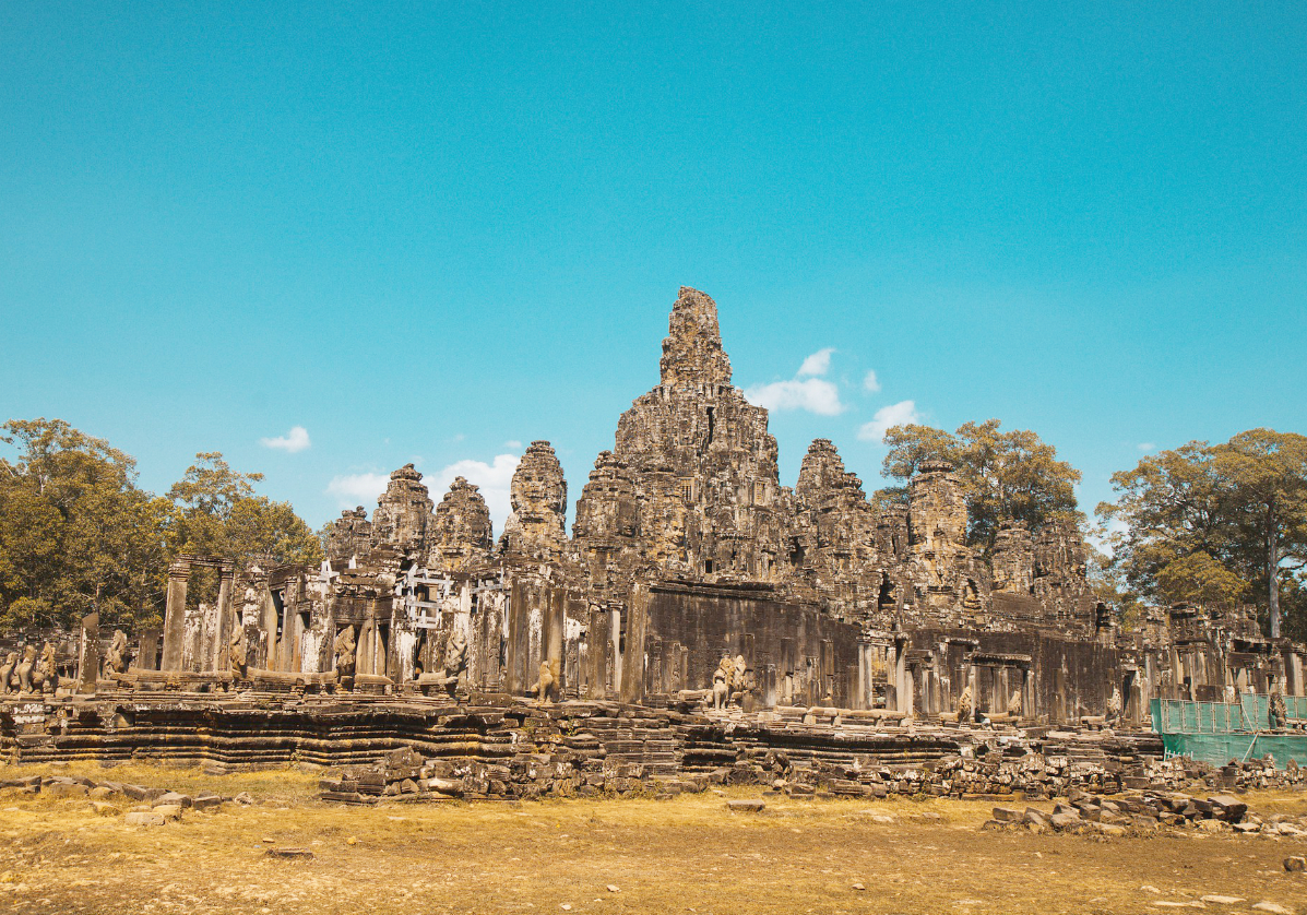 Temples d'Angkor Wat et d'Angkor Thom