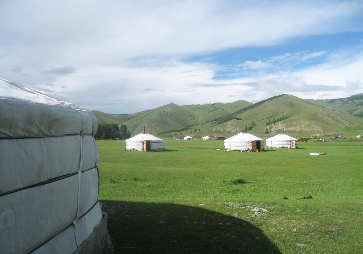 Vallée de la rivière Orkhon