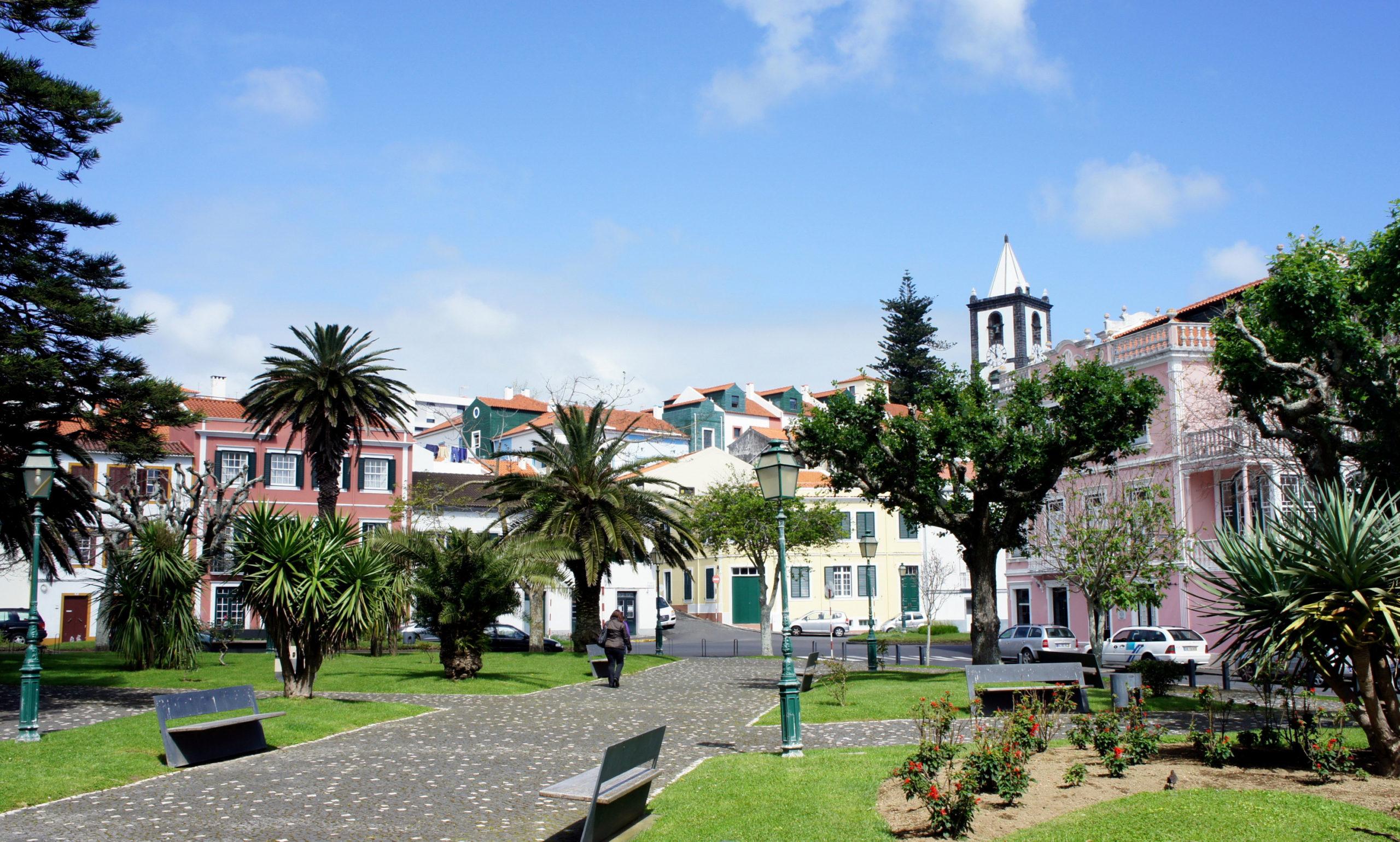 Transfert à Horta sur l'ile de Faial