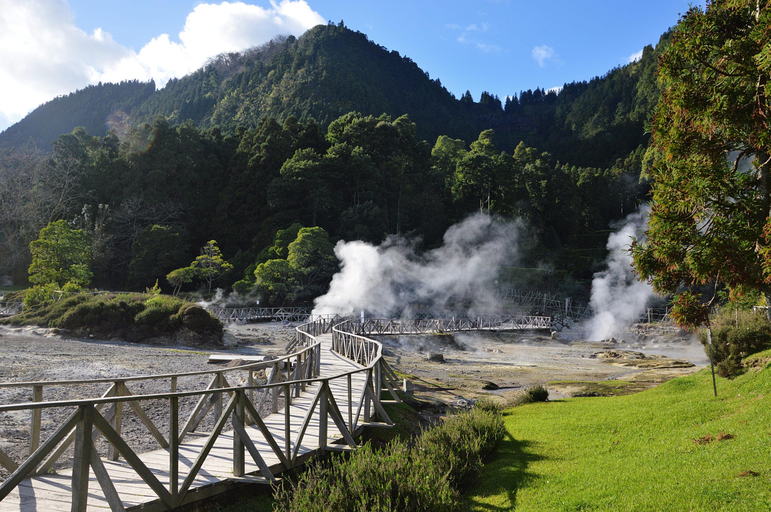 Découverte du parc volcanique de Furnas