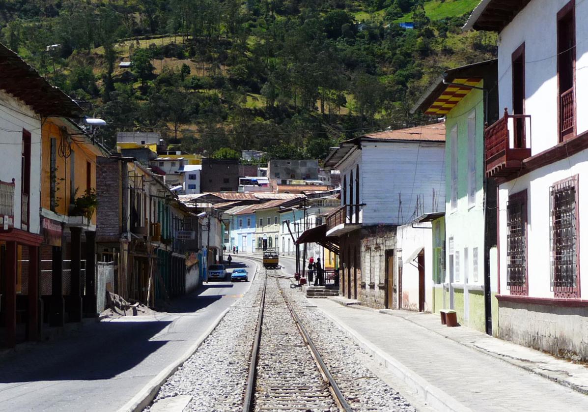 Voyage dans le train des Andes à Nariz del Diablo