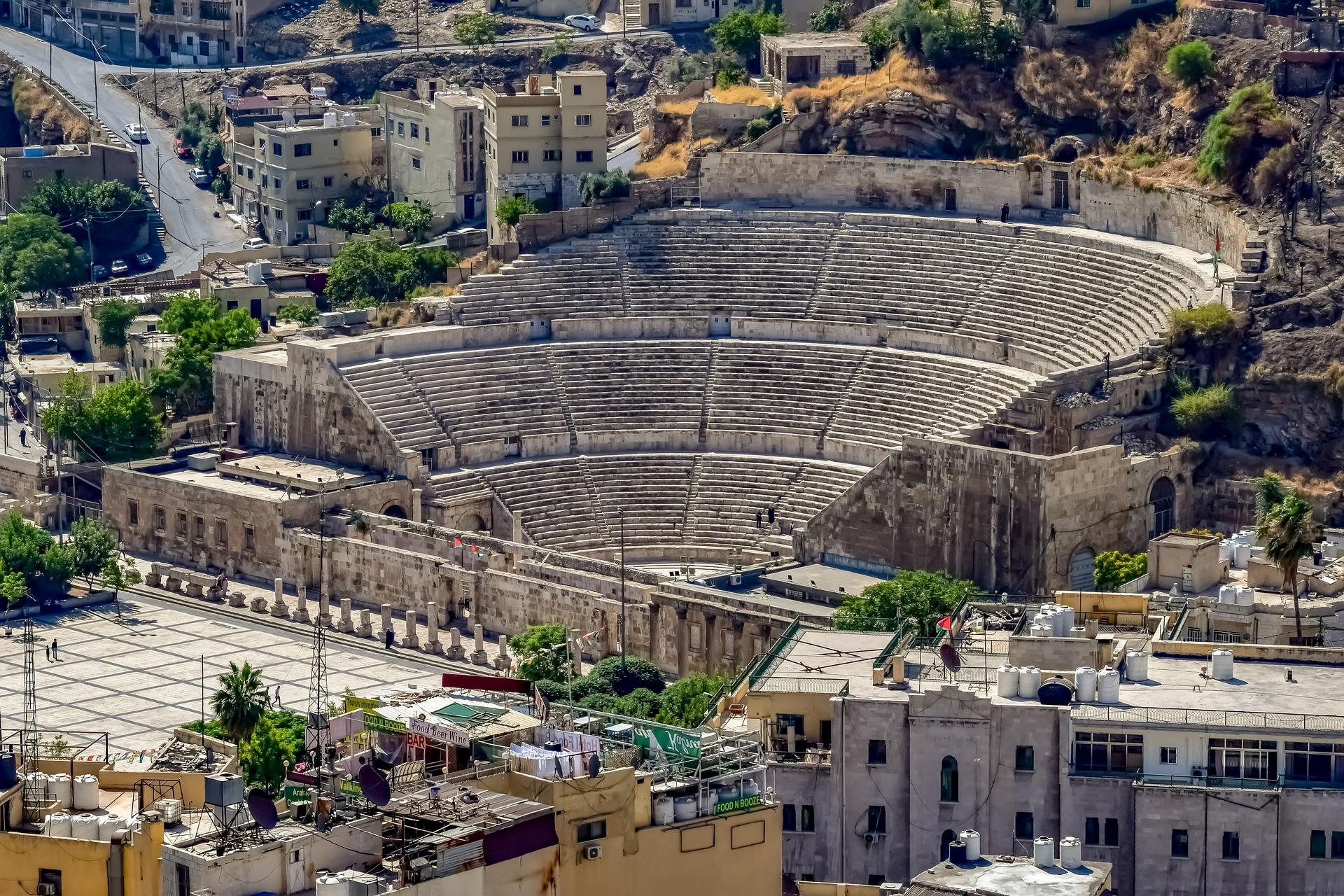 Amman, le Théâtre Romain