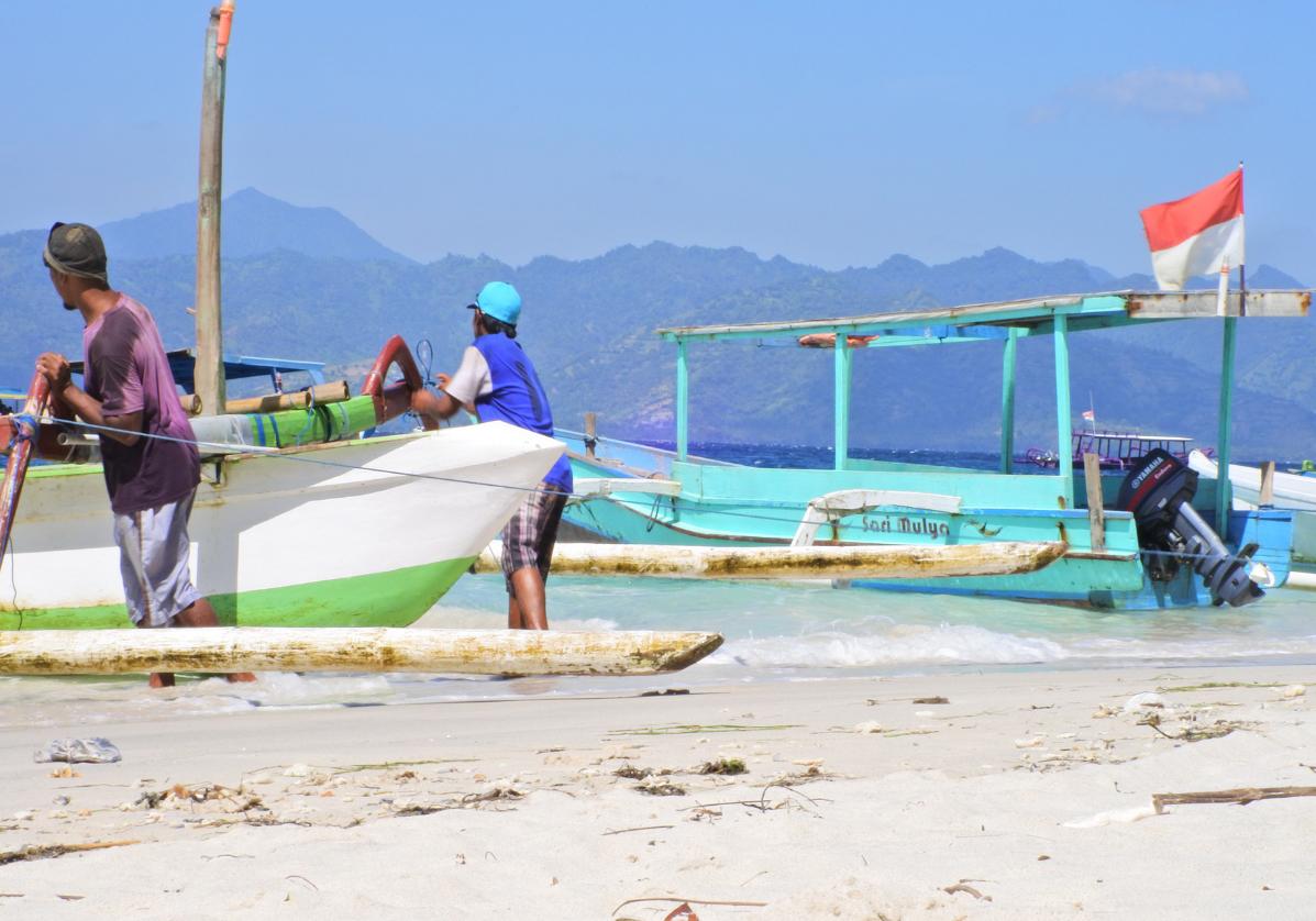 Départ pour l'ile de Lombok