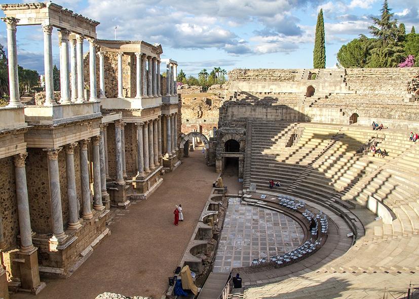 Le theâtre romain de Merida