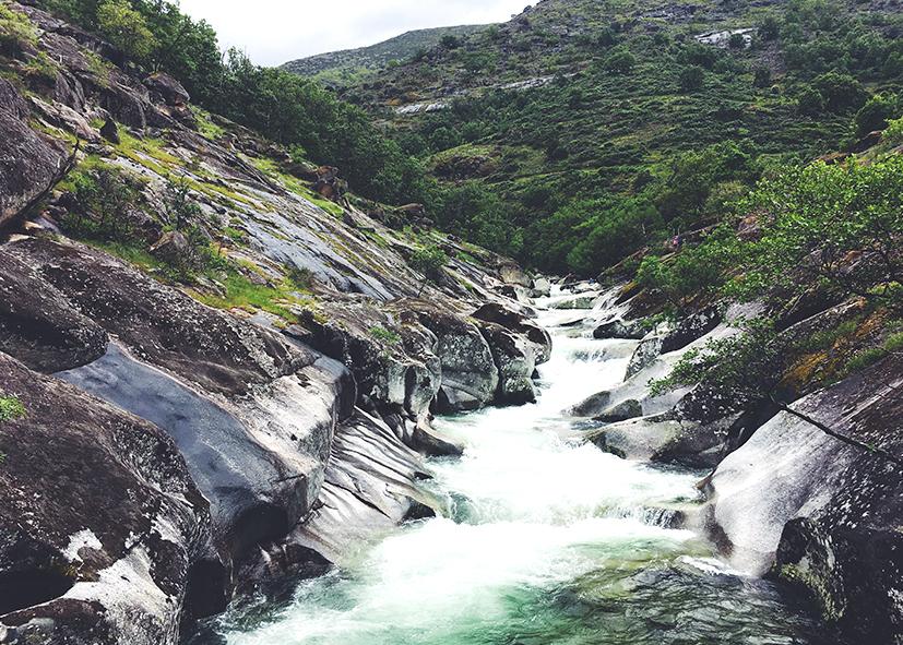Cascades du parc de Garganta de los Infiernos