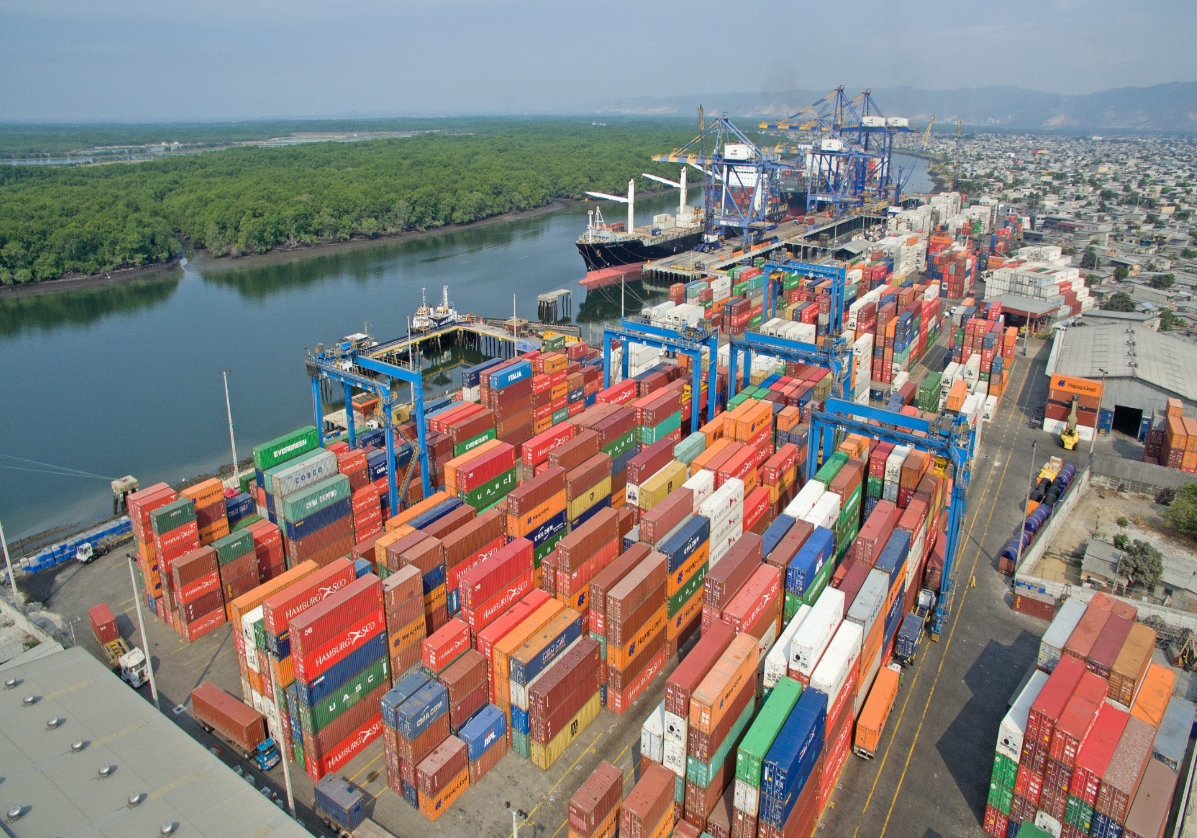 Guayaquil sur la côte Pacifique