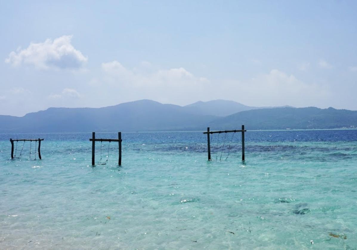 Détente sur l'ile de Menjangan