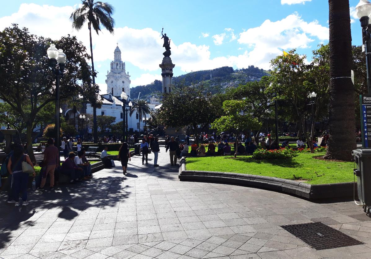 Visite libre de Quito
