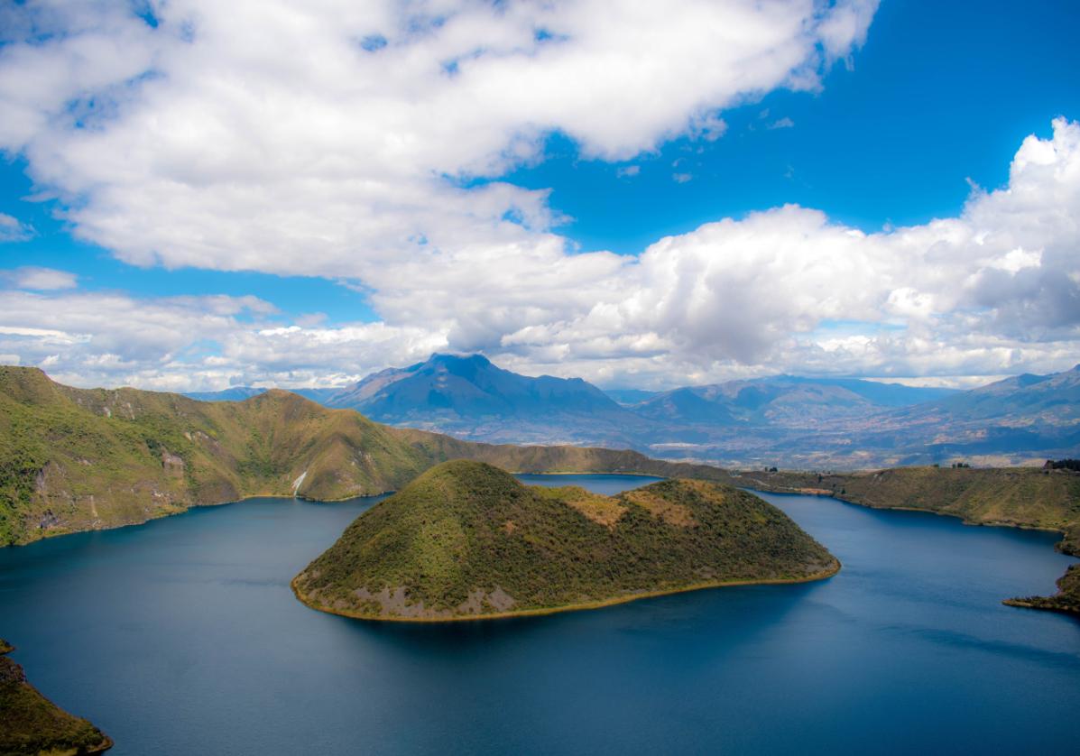 Le très beau lac de Cuicocha