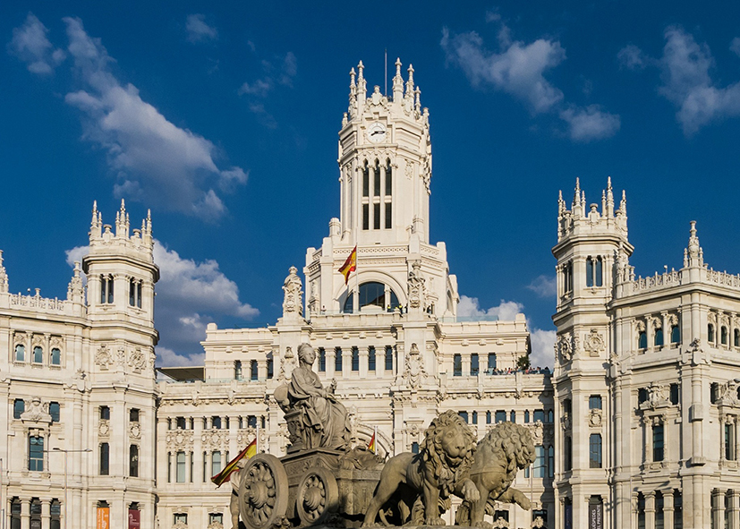 La mairie de Madrid