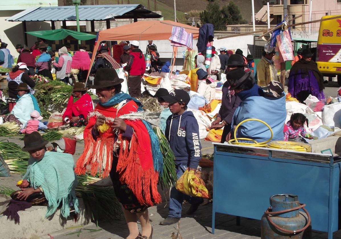 Le marché indien de Zumbahua