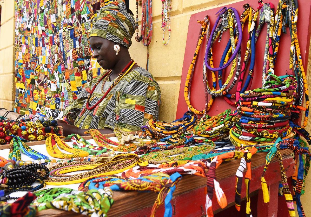 Dakar, marché de Soumbédioune