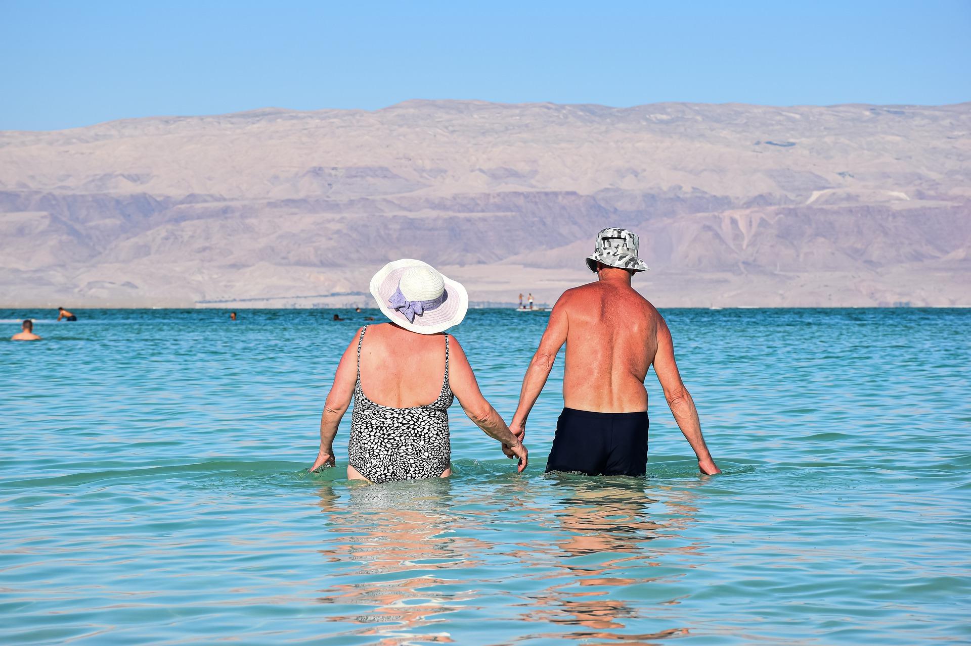 Relaxation sur la Mer Morte
