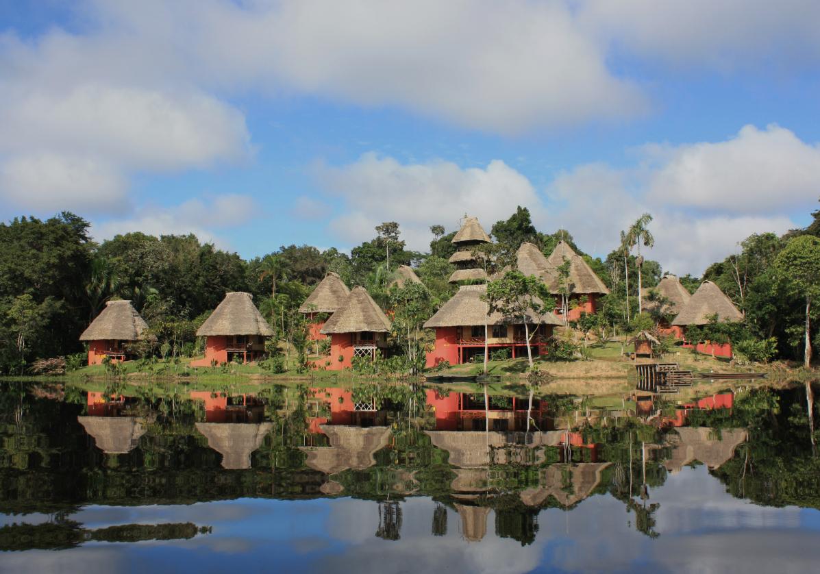 Misahualli, petit village en Amazonie