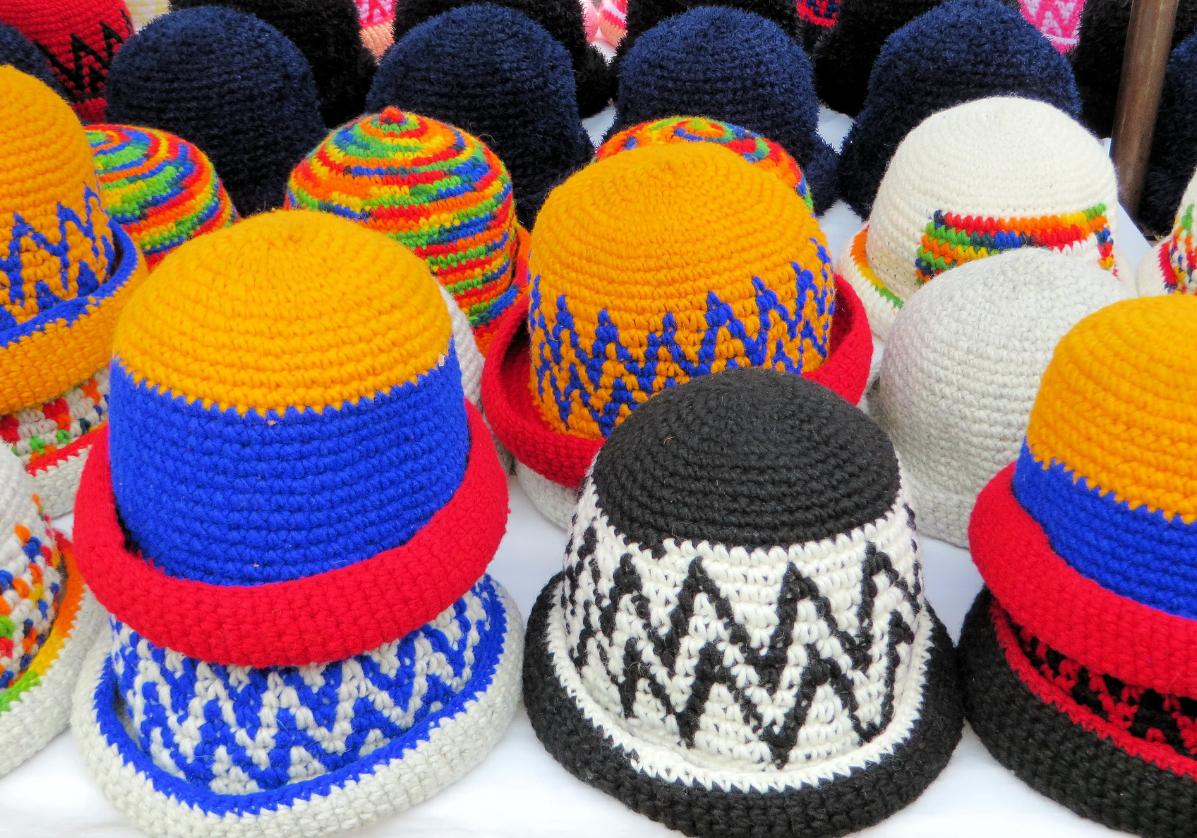 Le marché indien d'Otavalo, un des plus beau marché d'Amérique du Sud