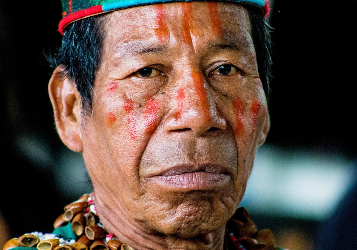 Rencontre avec les indigènes du lac de San Pablo