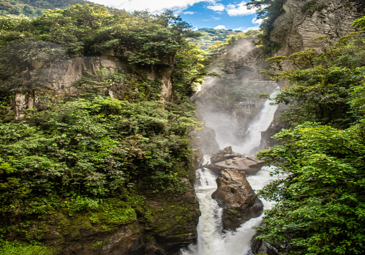 Baños, excursion à la cascade Pailon del Diablo