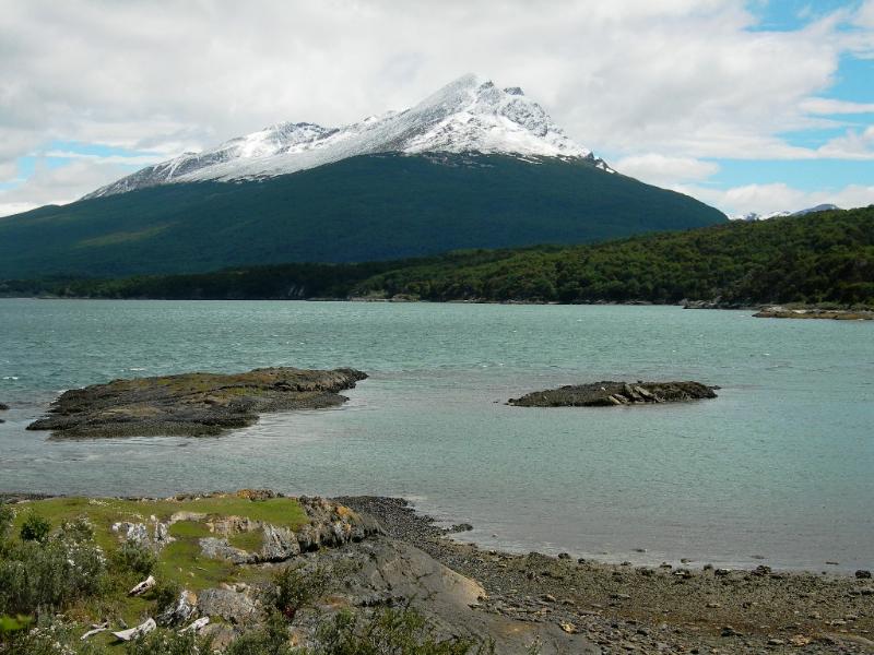 Parc national de la Terre de Feu en Patagonie