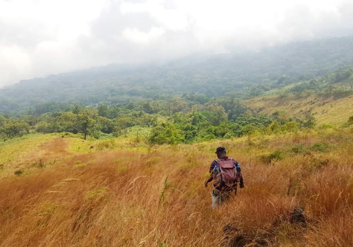 Départ pour l'ascension du Mont Cameroun