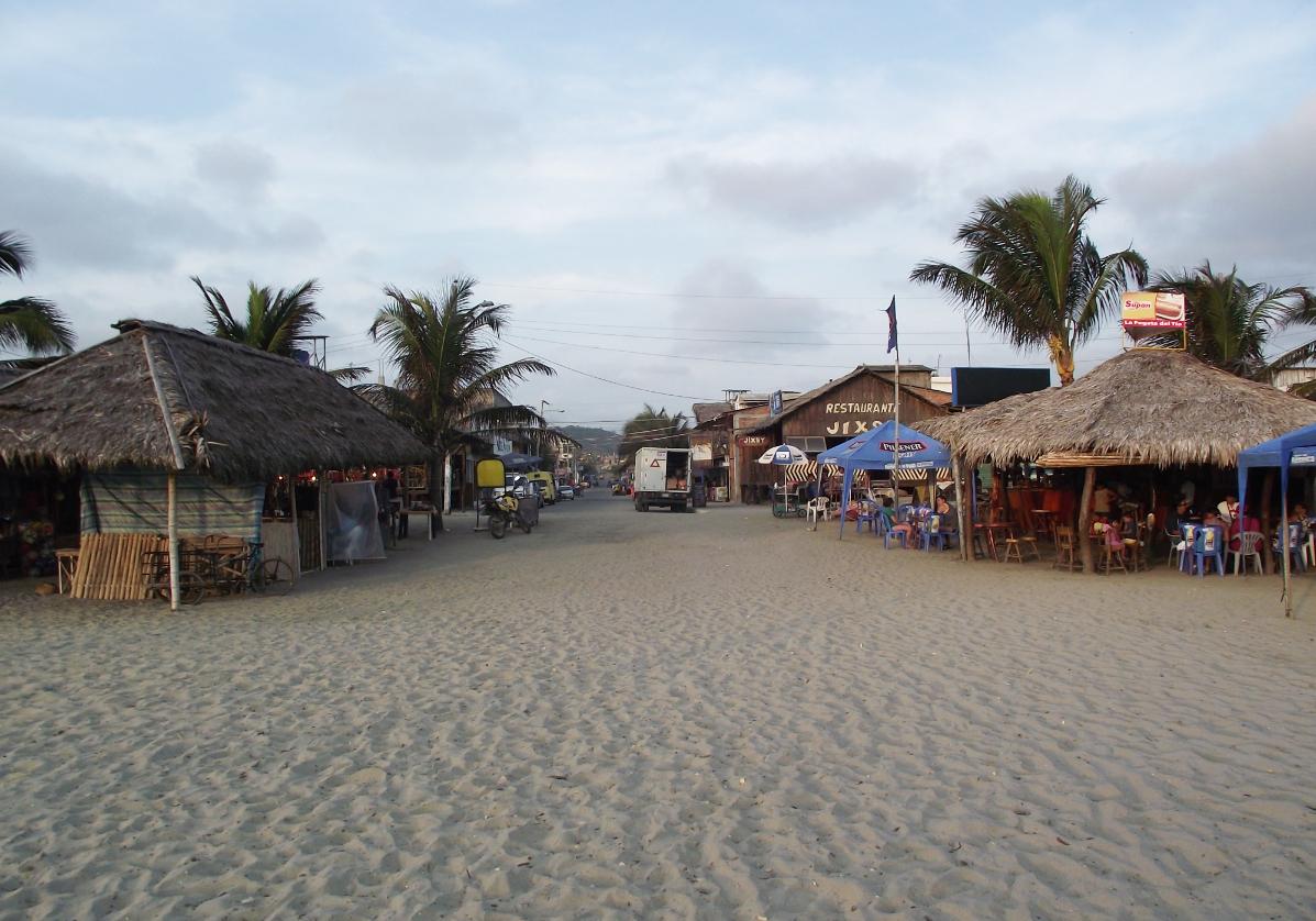 Le site pré-Inca Agua Blanca et plage de Los Frailes