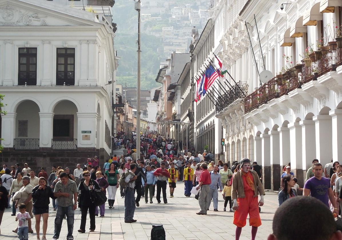 Quito en liberté