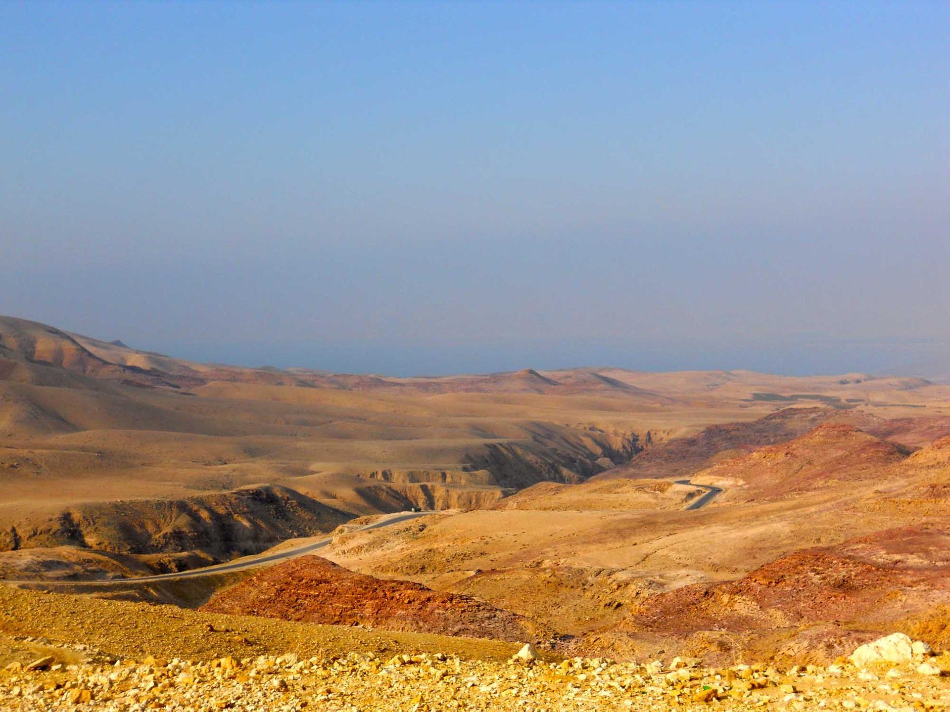 Mont Nebo et la route des Rois