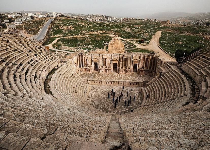 Théâtre romain de Jerash