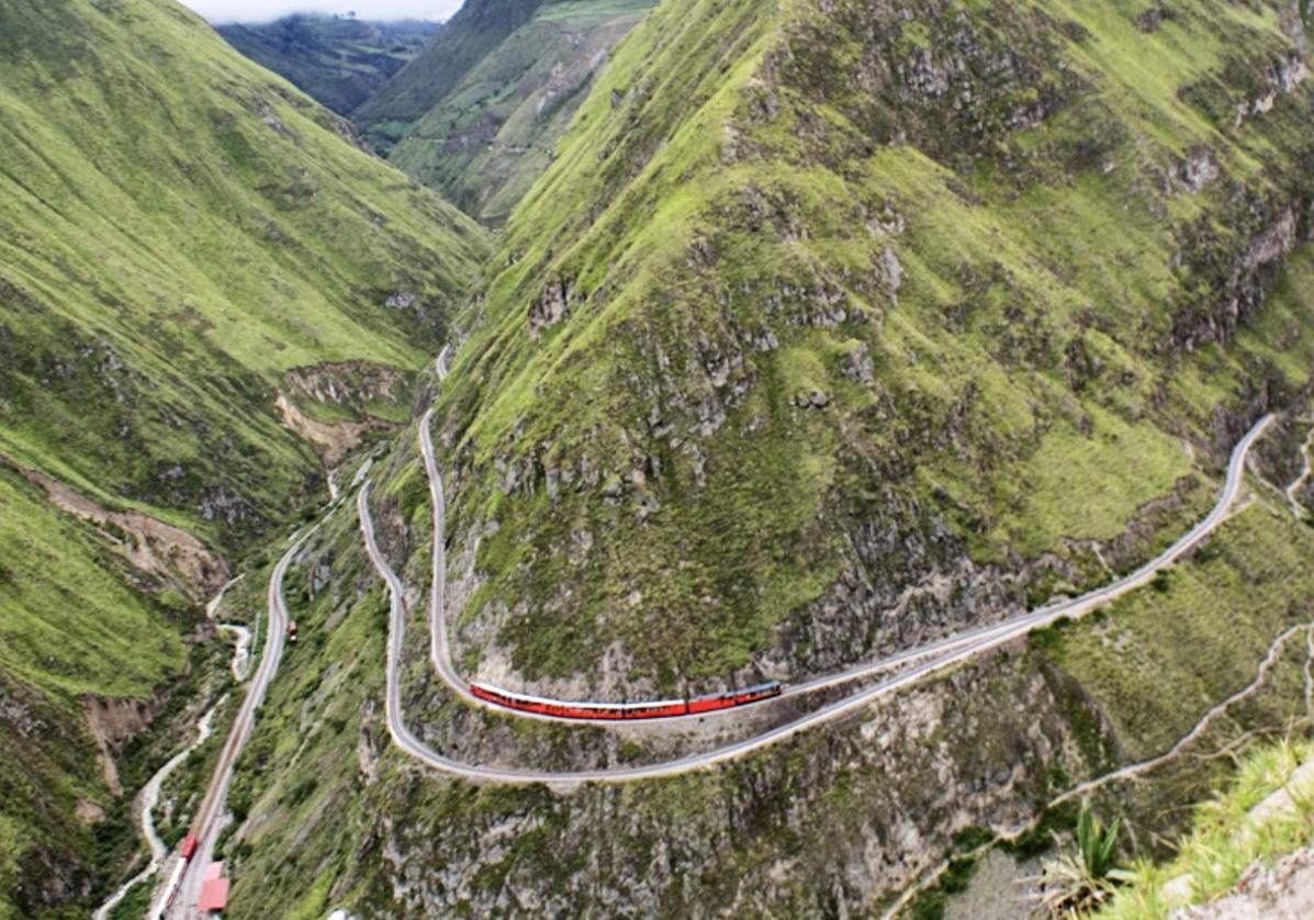 Experience du train en altitude de Riobamba à Nariz del Diablo