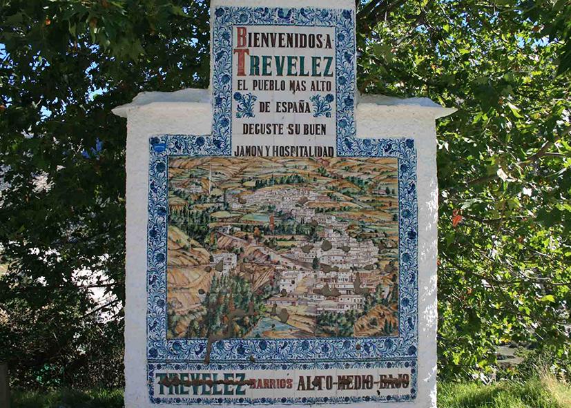 Village de Trevelez, la tradition du jambon Ibérique