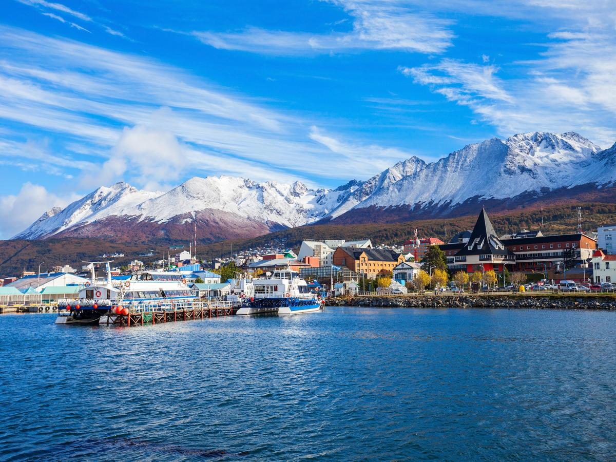Ushuaia capitale de la Terre de Feu