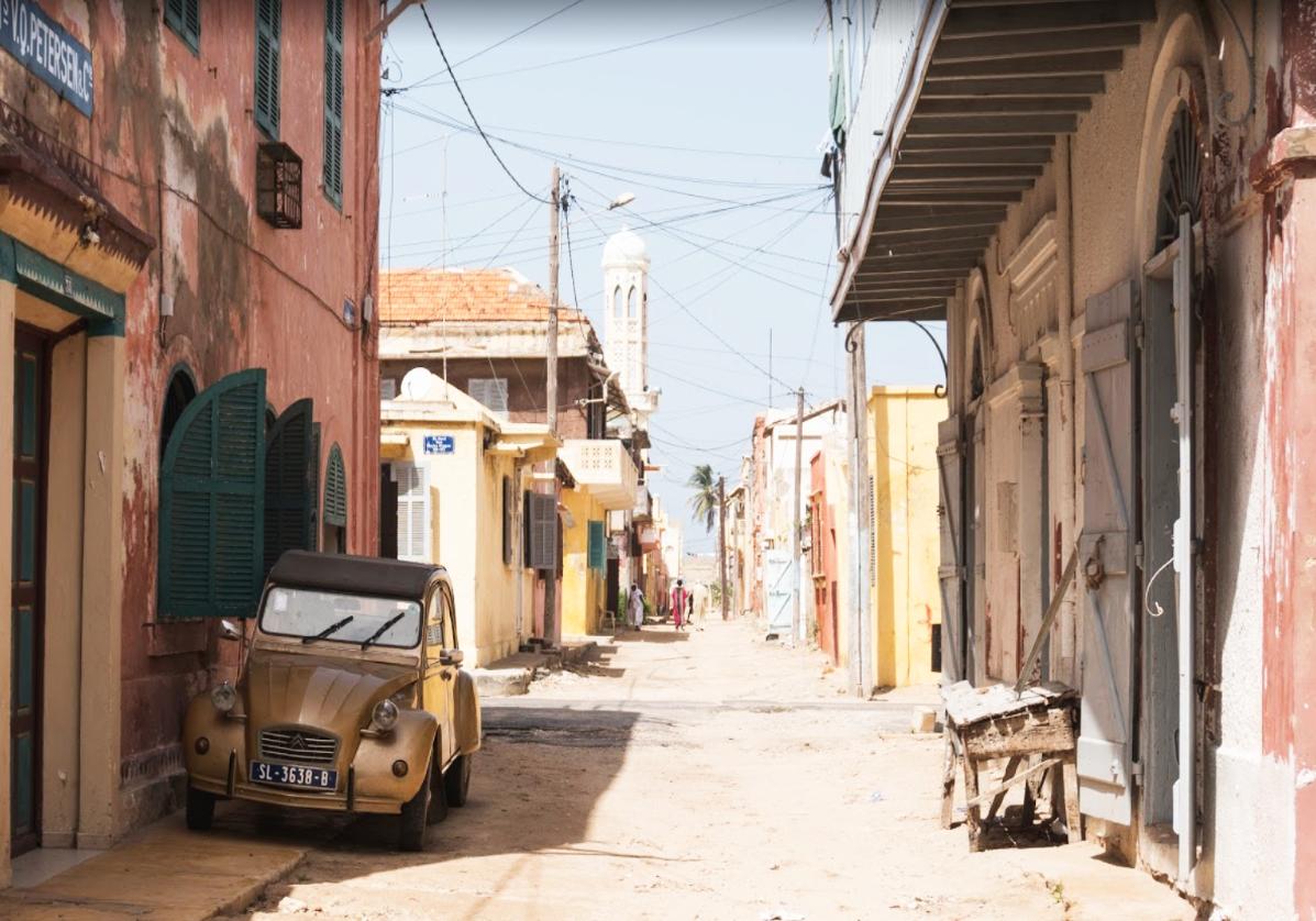 Saint Louis, ancienne ville coloniale