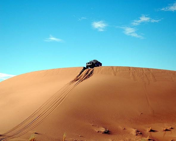 4X4 dans les dunes de Chiguagua